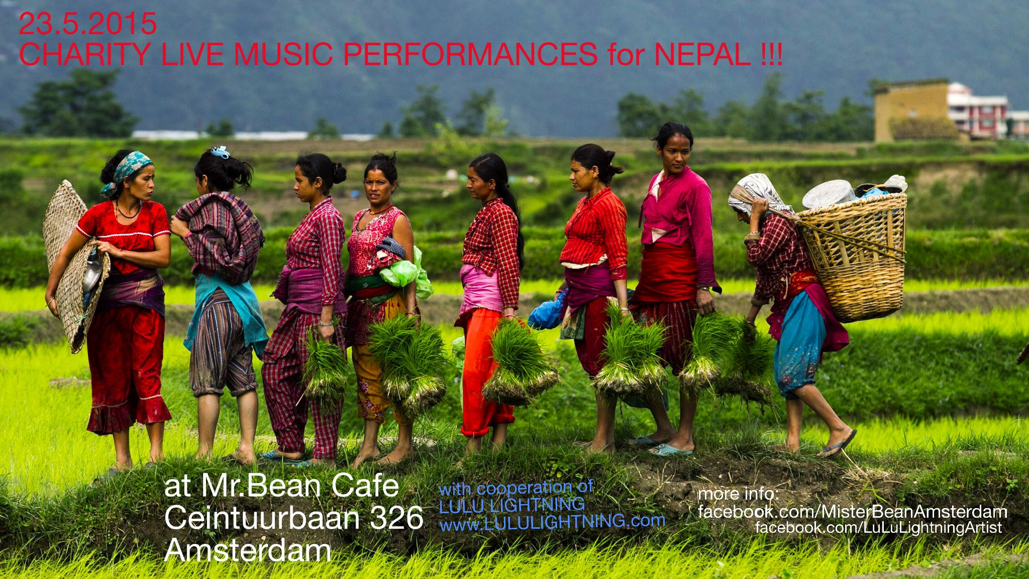 CHARITY FOR NEPAL AMSTERDAM - MUSIC EVENT