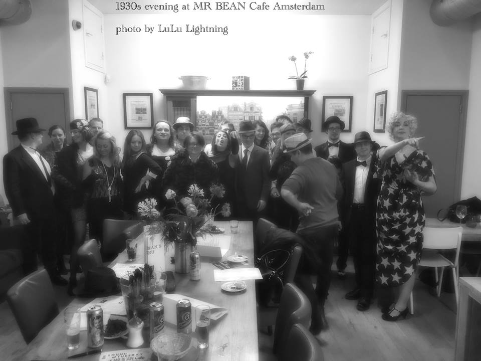 1930s event at Mr.Bean Cafe